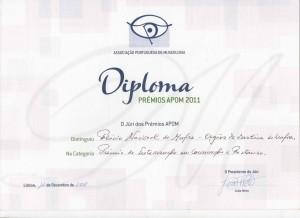 Diploma Prémios APOM