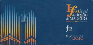 Festival de órgão Madeira_2010